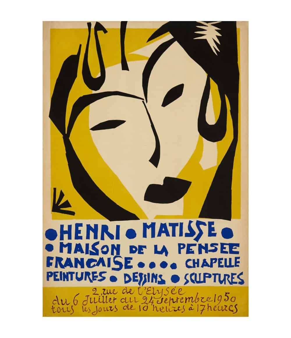 Matisse Exhibition Lithograph