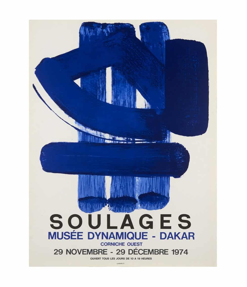 Pierre Soulages Poster