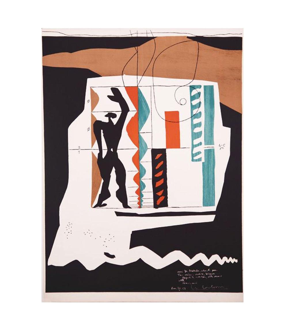 Le Corbusier Modulor Lithograph