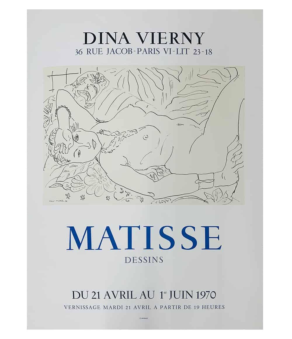 Matisse Dessins Dina Vierny