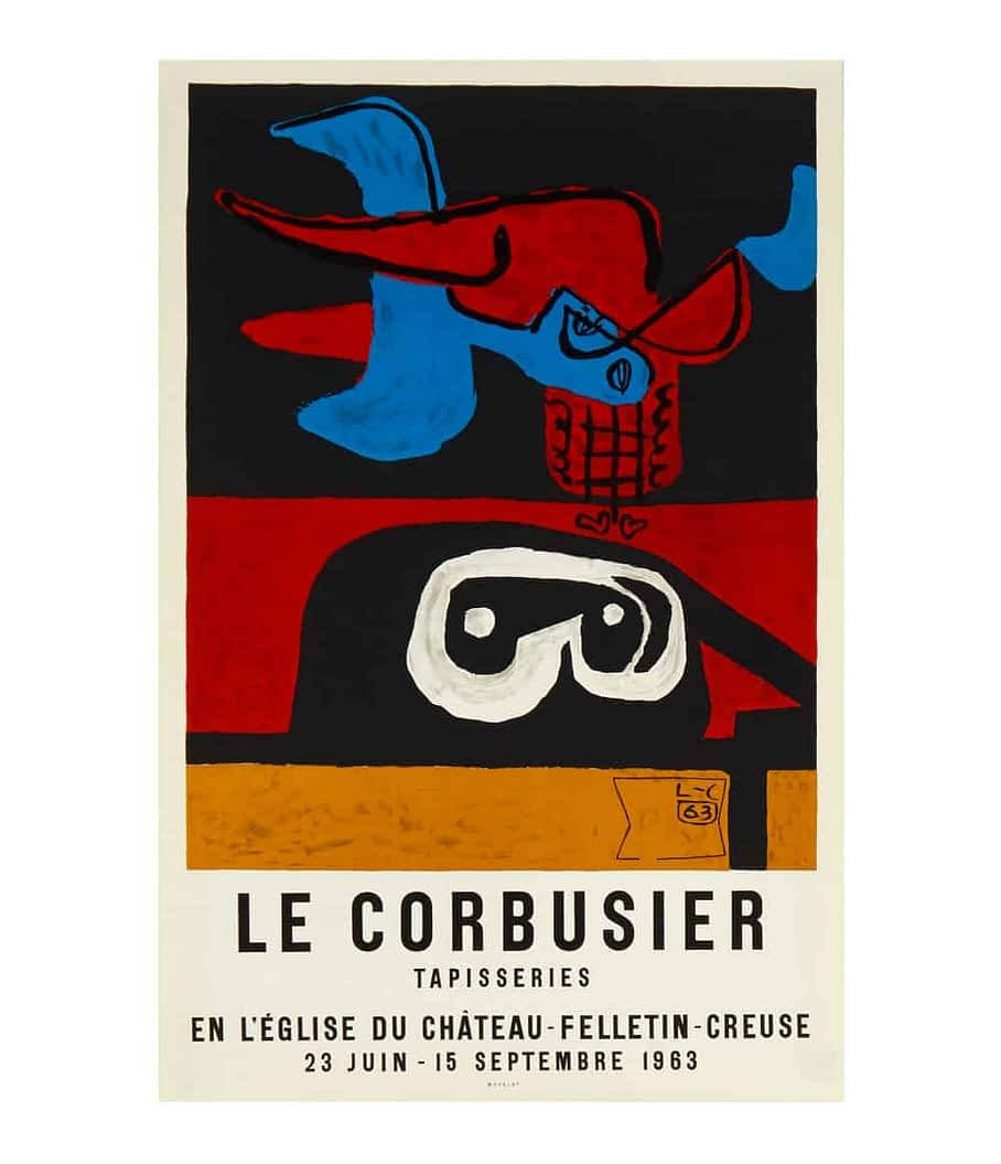 Le Corbusier Exhibition Poster
