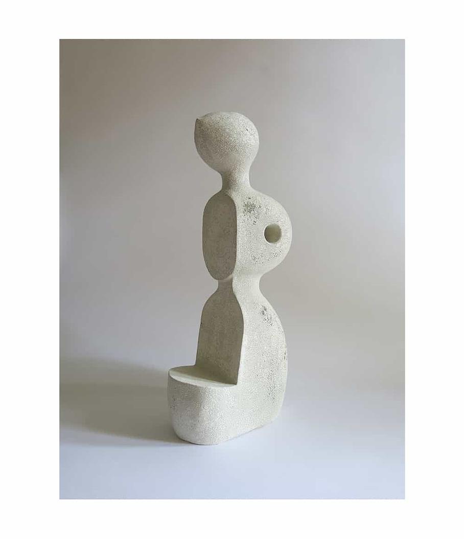 Joan of Arp Humble Matter Ceramic Sculpture