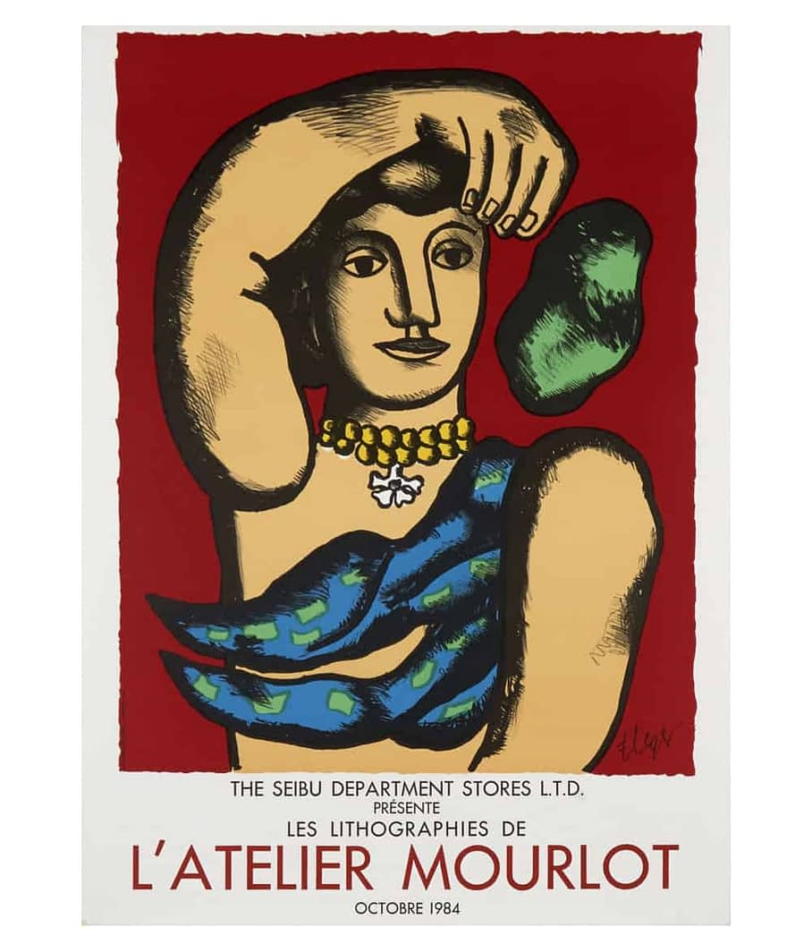 Fernand Leger Atelier Mourlot