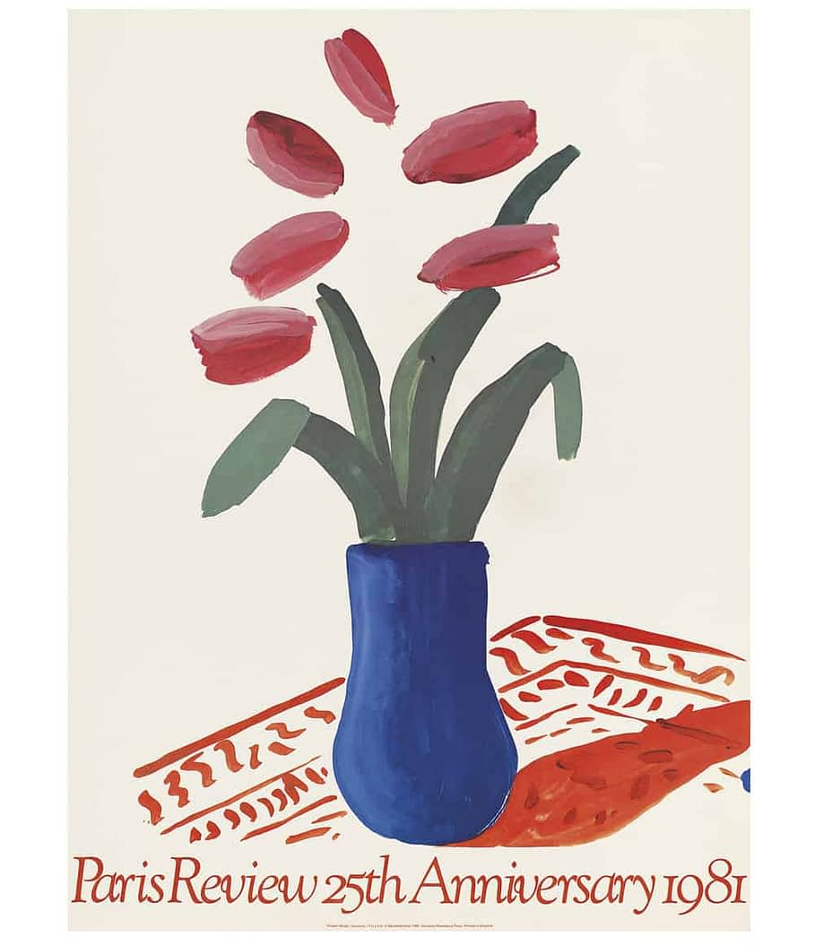 Hockney Paris Review Poster