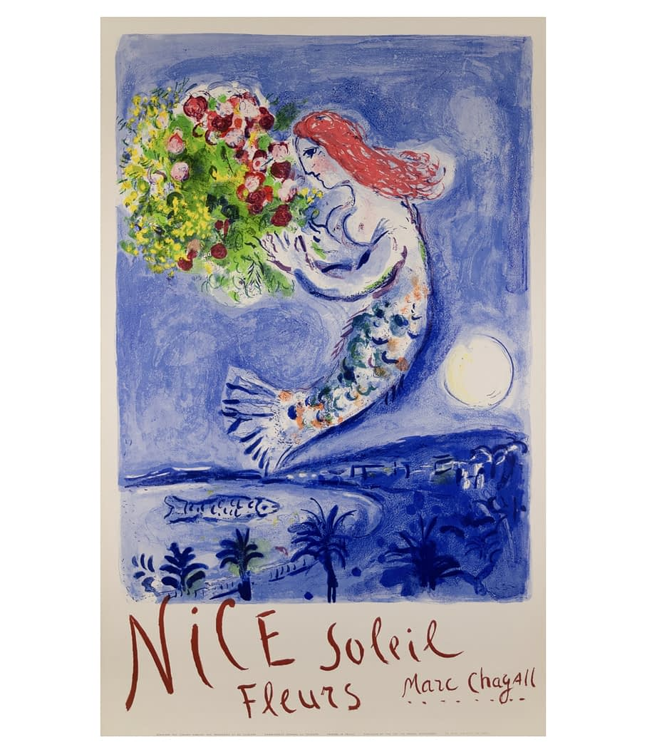 Chagall Nice Lithograph