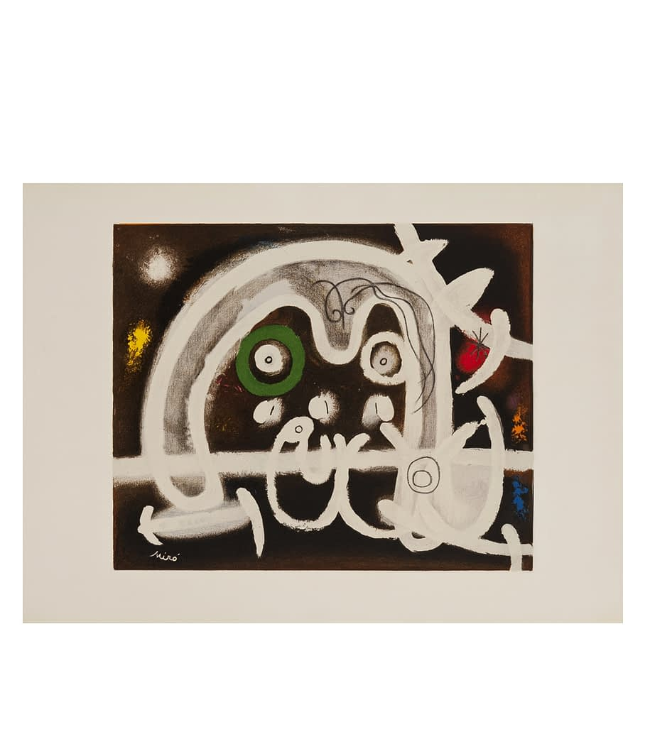 Joan Miro Personnage et Ouiseau