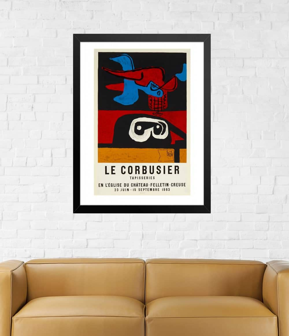 Le-Corbusier-tapestry-lithograph