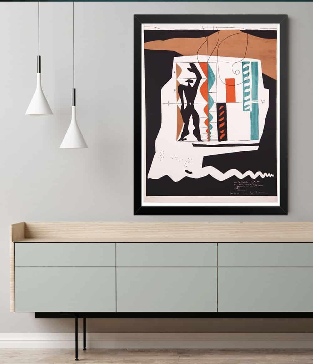 Le-Corbusier-Lithograph