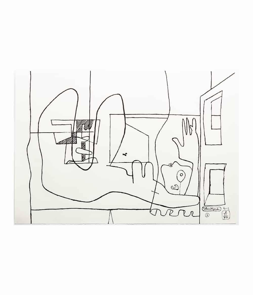 Chez Soi Black and White - Le Corbusier