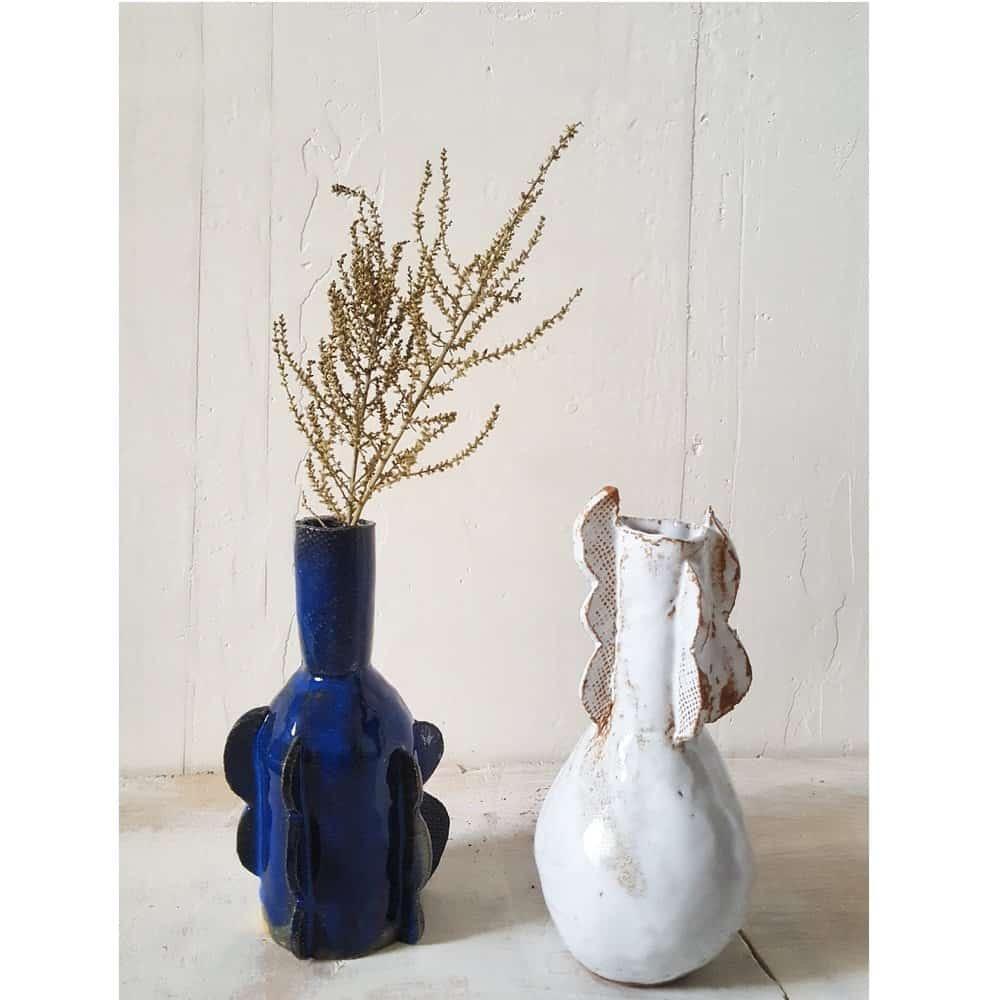 Asterisque Ond Vase