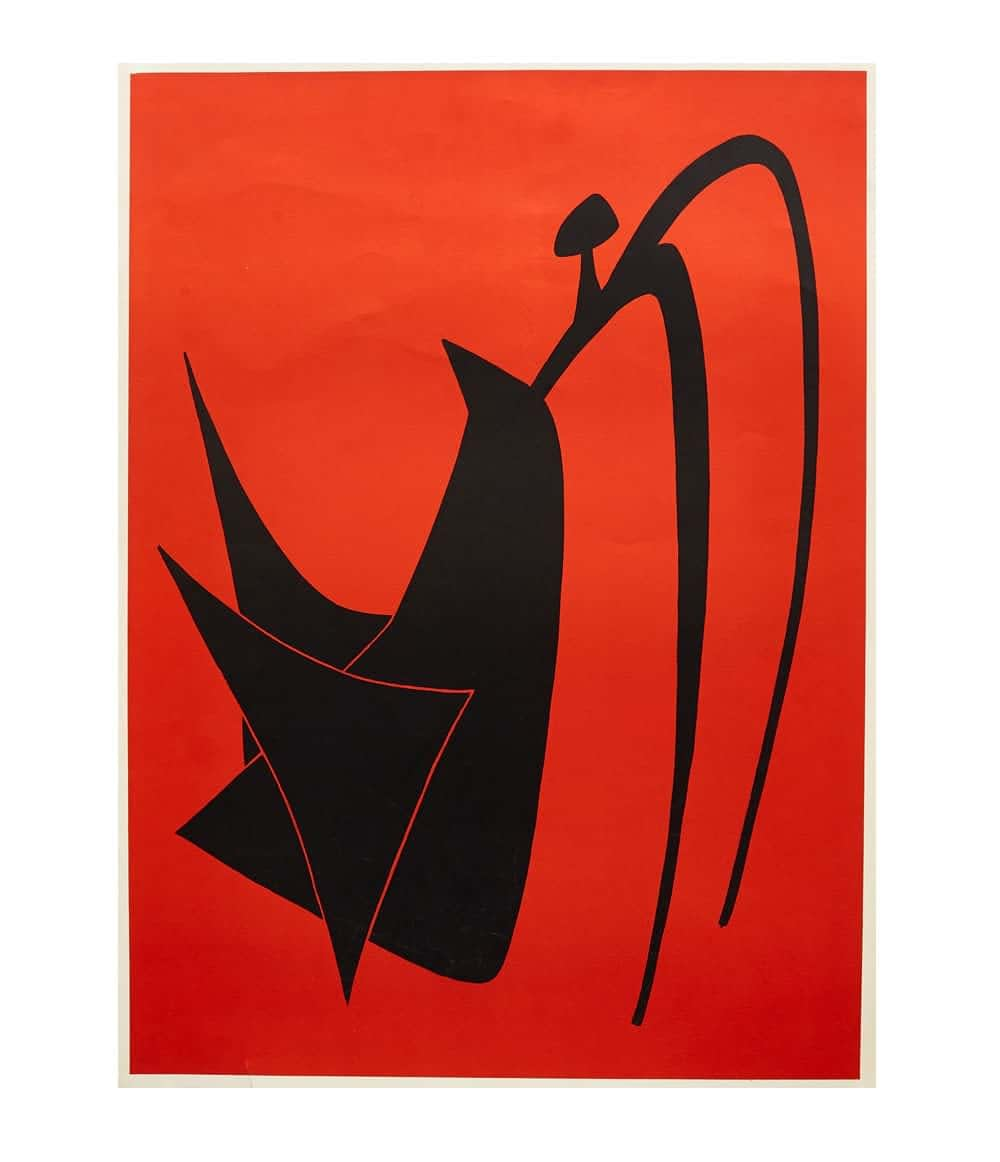 Calder Untitled Lithograph