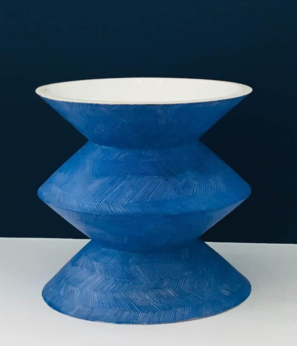 Karen Ctorza Blue Vase