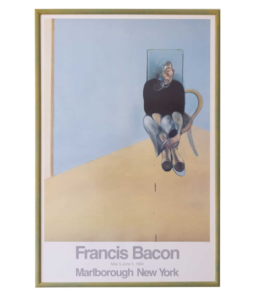 francis bacon framed lithograph