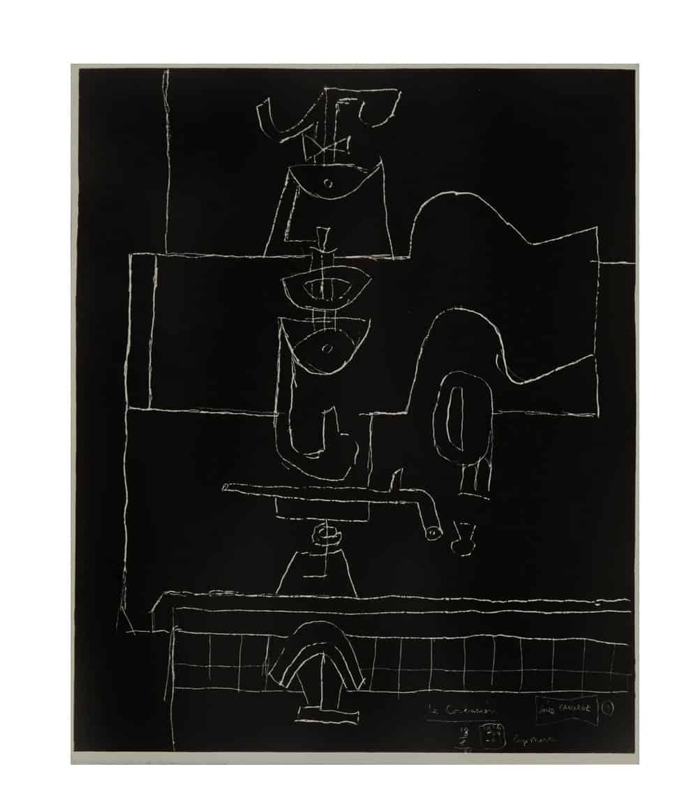 Le Corbusier Panurge Plate 1