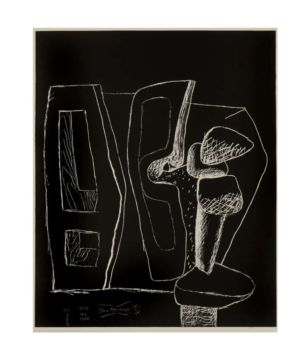 Le Corbusier Panurge Plate 2