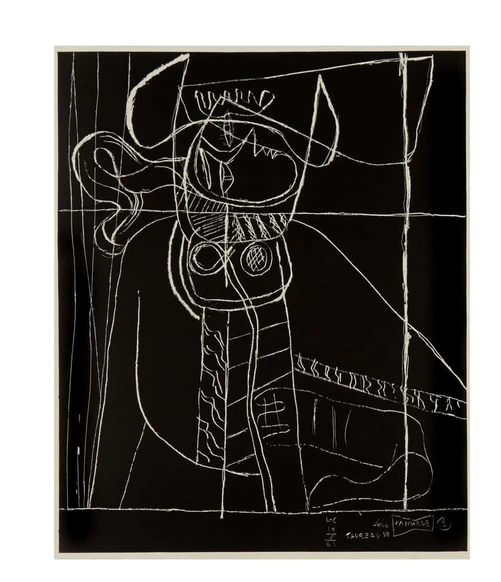 Le Corbusier Panurge Plate 3