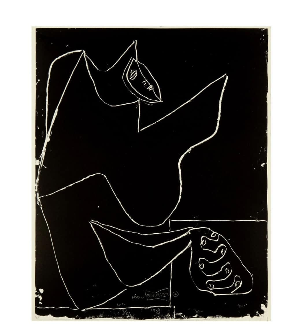 Le Corbusier Panurge Plate 4