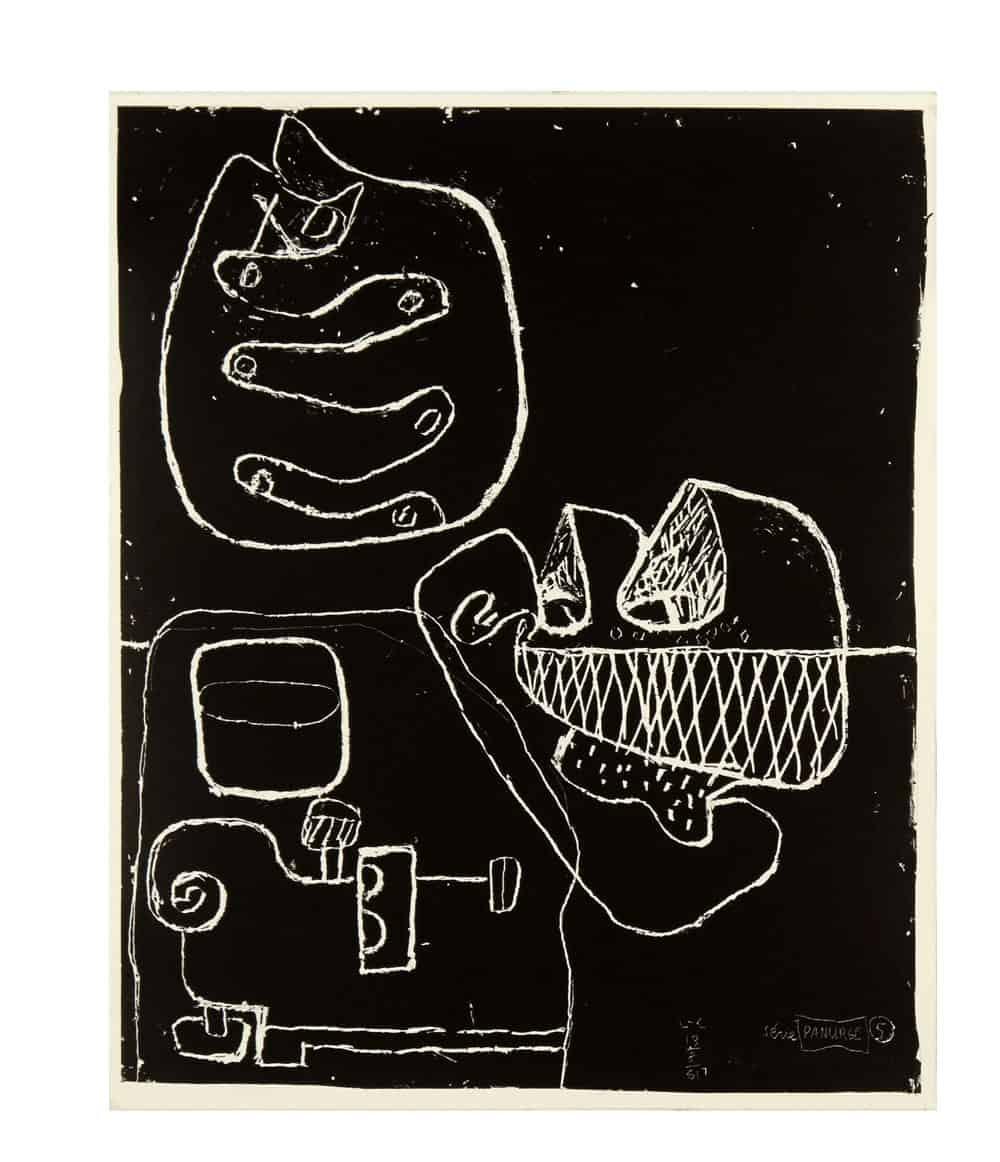 Le Corbusier Panurge Plate 5