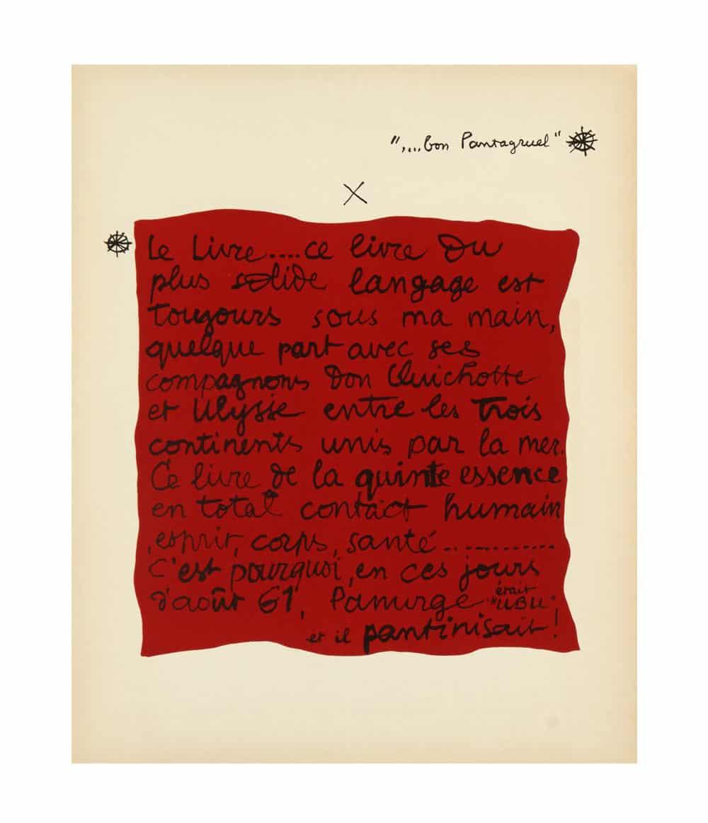 Le Corbusier Panurge Text