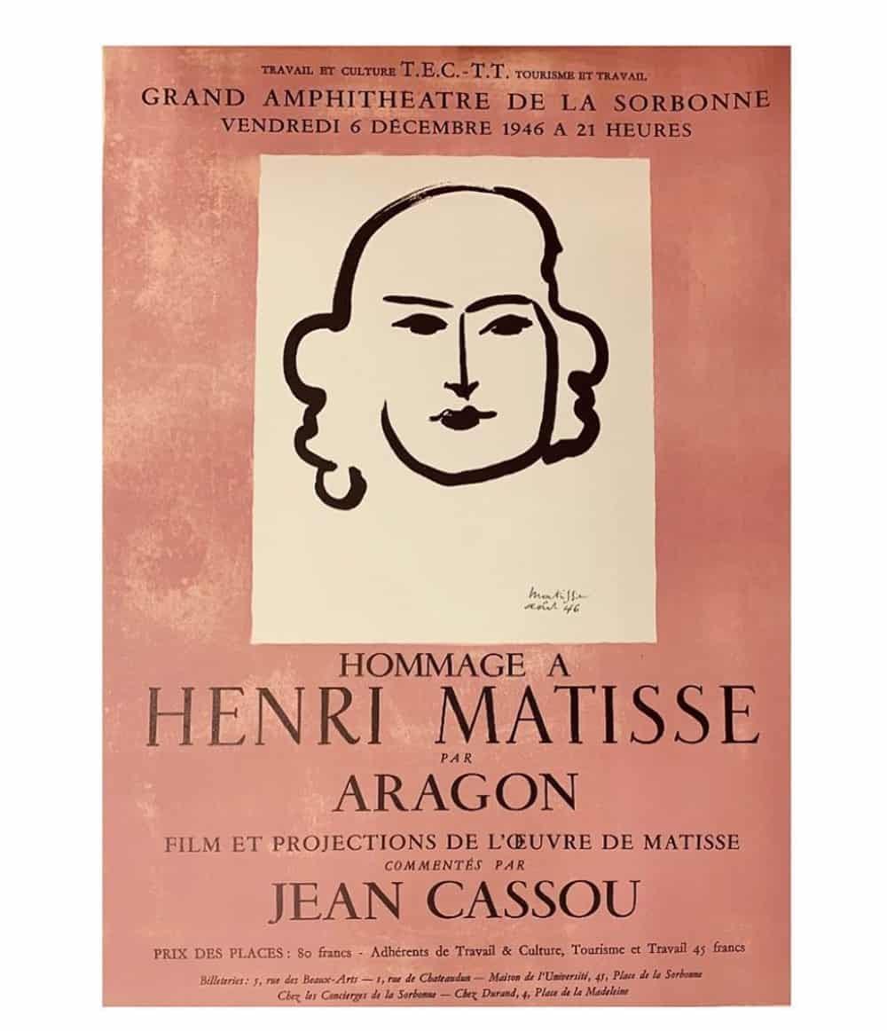 Matisse Aragon Poster