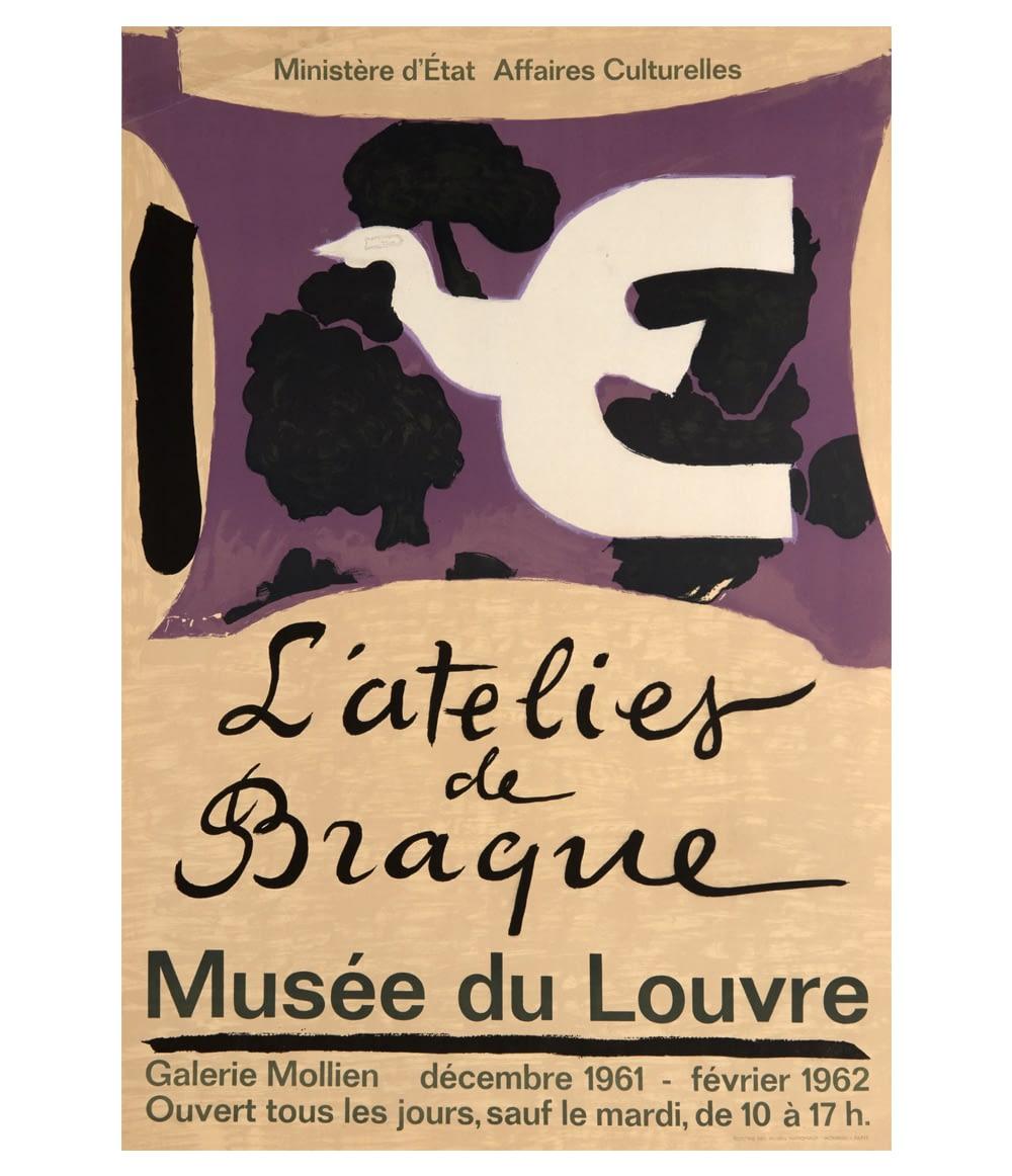 Georges Braque atelier de Braque