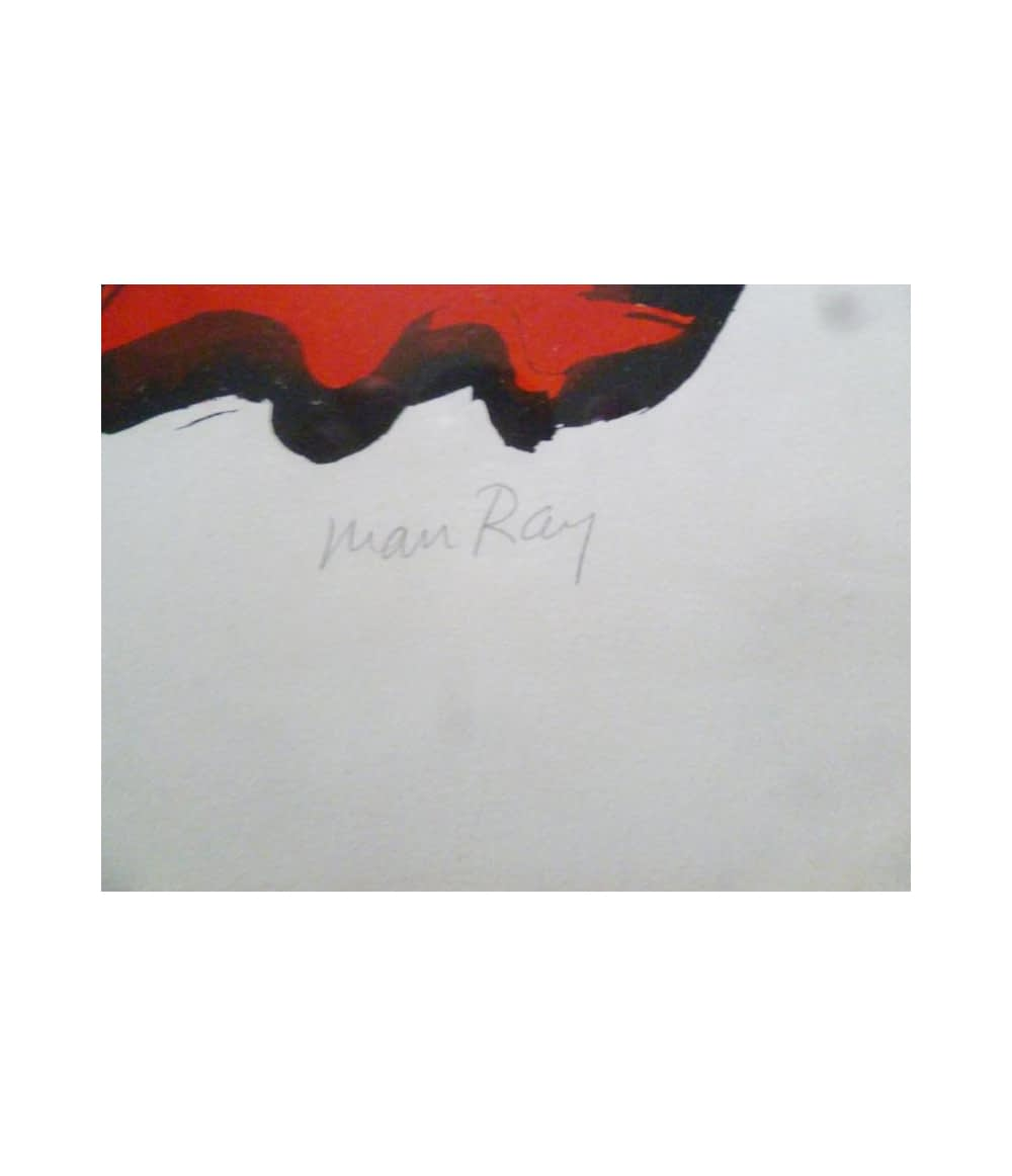 Man Ray Mythology Moderne signature