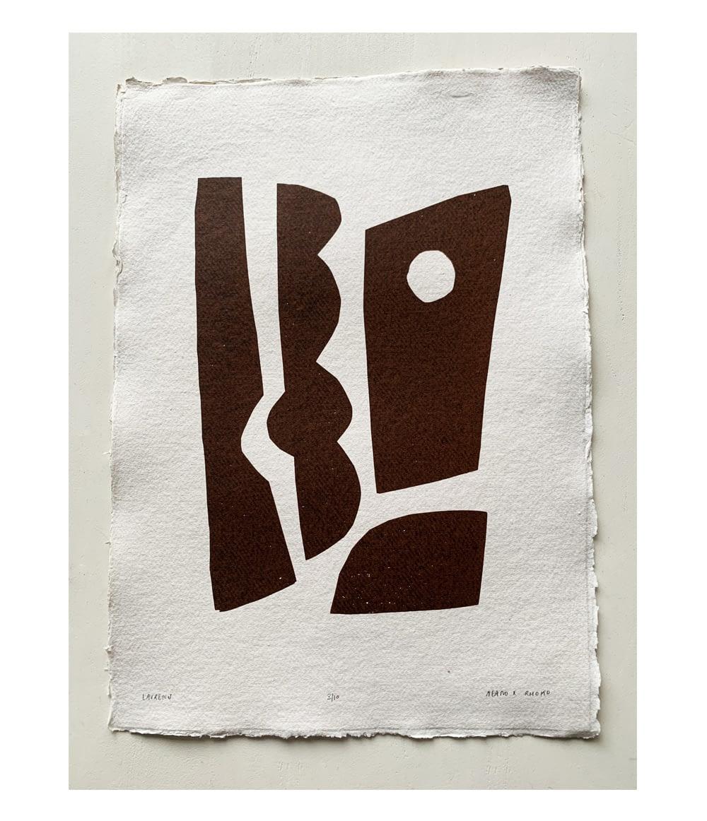 Henri Laurens screen print